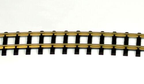 Thiel 318 Gebogenes Messing Gleis R=175 cm für Gartenbahn Spur G