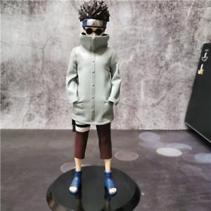 Anime Naruto Shippuden Aburame Shino PVC Action Figure Collect Figurine Toy 22CM