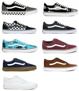 VANS-WARD-MENS-LOW-TOP-SNEAKERS-CASUAL-SKATE-STYLE-SHOES-NIB