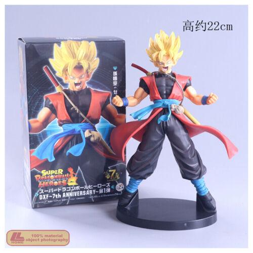 Anime Dragon Ball Z DXF 7th Super Saiyan Heroes Son Goku XENO Action Figure Toy