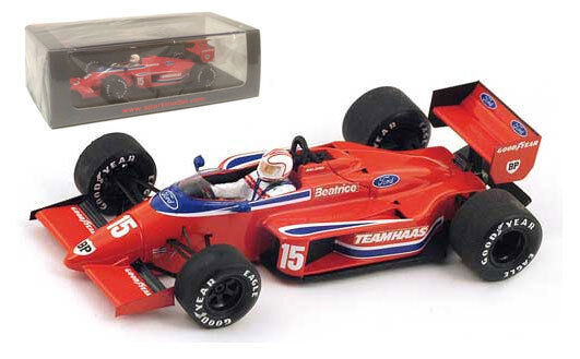 SPARK s1788 HAAS-Lola thl2  15 'Beatrice' Belgium GP 1986 Alan Jones 1 43 Scale