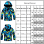 Boys Girl Kids Fleece Ski Snow Winter Jacket Coats Hoodie Hooded Wind//Waterproof