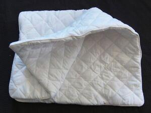 Pillow-Protector-Case-Bamboo-Fill-Cotton-Cover-Hidden-Zip-Good-Quality-300GSM