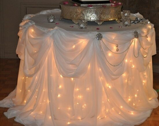 400 Party WEDDING  White Wire Bulb Lights RECEPTION  (4 Sets of 100)