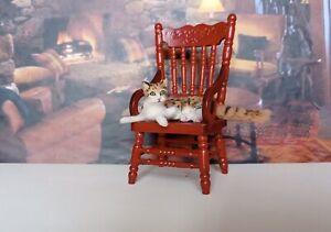 TABBY-CAT-Dollhouse-realistic-OOAK-miniature-1-12-handsculp-handmade