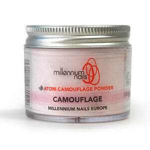 Nail Care, Manicure & Pedicure Millennium Nails Professional Acrylic Cover Powder Cover Platinum Camouflage 50g Health & Beauty