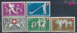 Schweiz-555-559-postfrisch-1951-Pro-Patria-7497670