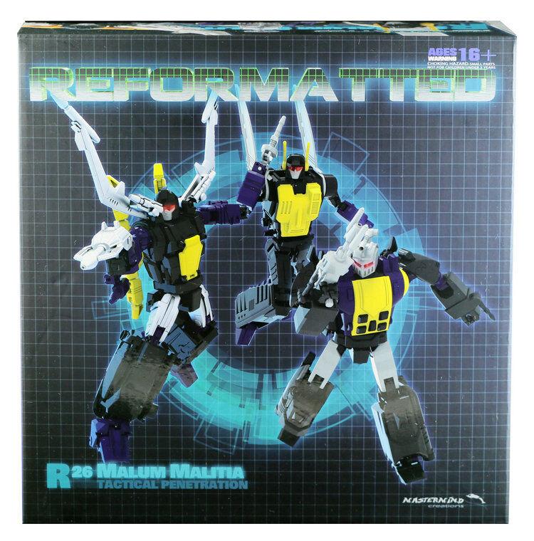 Transformers, malum malitia rojoiseñado para MMC R - 26.