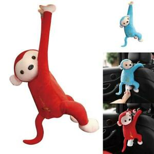 Creative-Cartoon-Tissue-Monkey-Car-Hanging-Paper-Napkin-Cover-Box-Holder-W3Q4