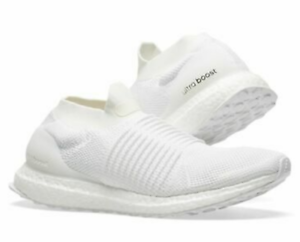 adidas-Ultraboost-Ultra-Boost-Men-039-s-Laceless-Triple-White-Running-Shoe-Bb6146