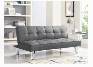 NEW-Modern-Futon-Sofa-Couch-Bed-Sleeper-Convertible-Lounge-Living-Room-Furniture