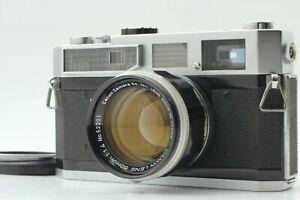 exc-5-Canon-Modell-7-Rangefinder-Film-Camera-mit-50mm-f1-4-Lens-aus-Japan-555