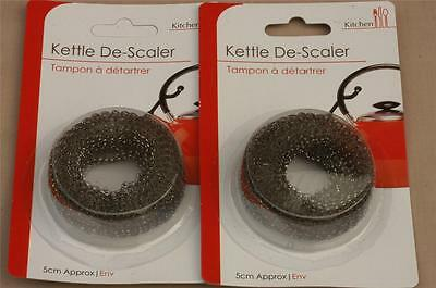 2 x kettle/lime scale de-scaler electric/gas
