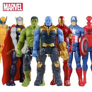 Figurine-30-cm-Marvel-Avengers-Endgame-Heros-Thanos-Spiderman-Hulk-Iron-Man