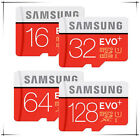 SAMSUNG EVO Plus 64GB 32G 16G 8G MicroSD Class 10 Flash Memory Card SD w Adapter