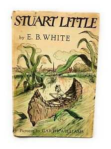 Vtg-Stuart-Little-By-E-B-White-Pictures-By-Garth-Williams-Harper-amp-Brothers