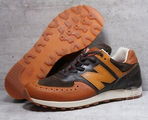 pretty nice 59a7d 82605 New Balance X Grenson M576GSN 8.5 Brown Leather Made In ...