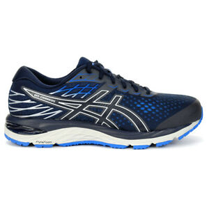 ASICS Men's Gel-Cumulus 21 (Extra Wide) Midnight Running Shoes 1011A553.402 NEW