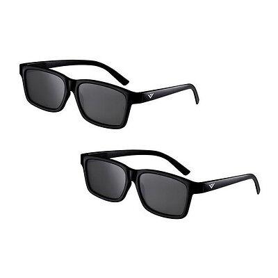 NEW VIZIO 2-Pack Theater Passive 3D Glasses, Cinema 3D, Adult Size, XPG302