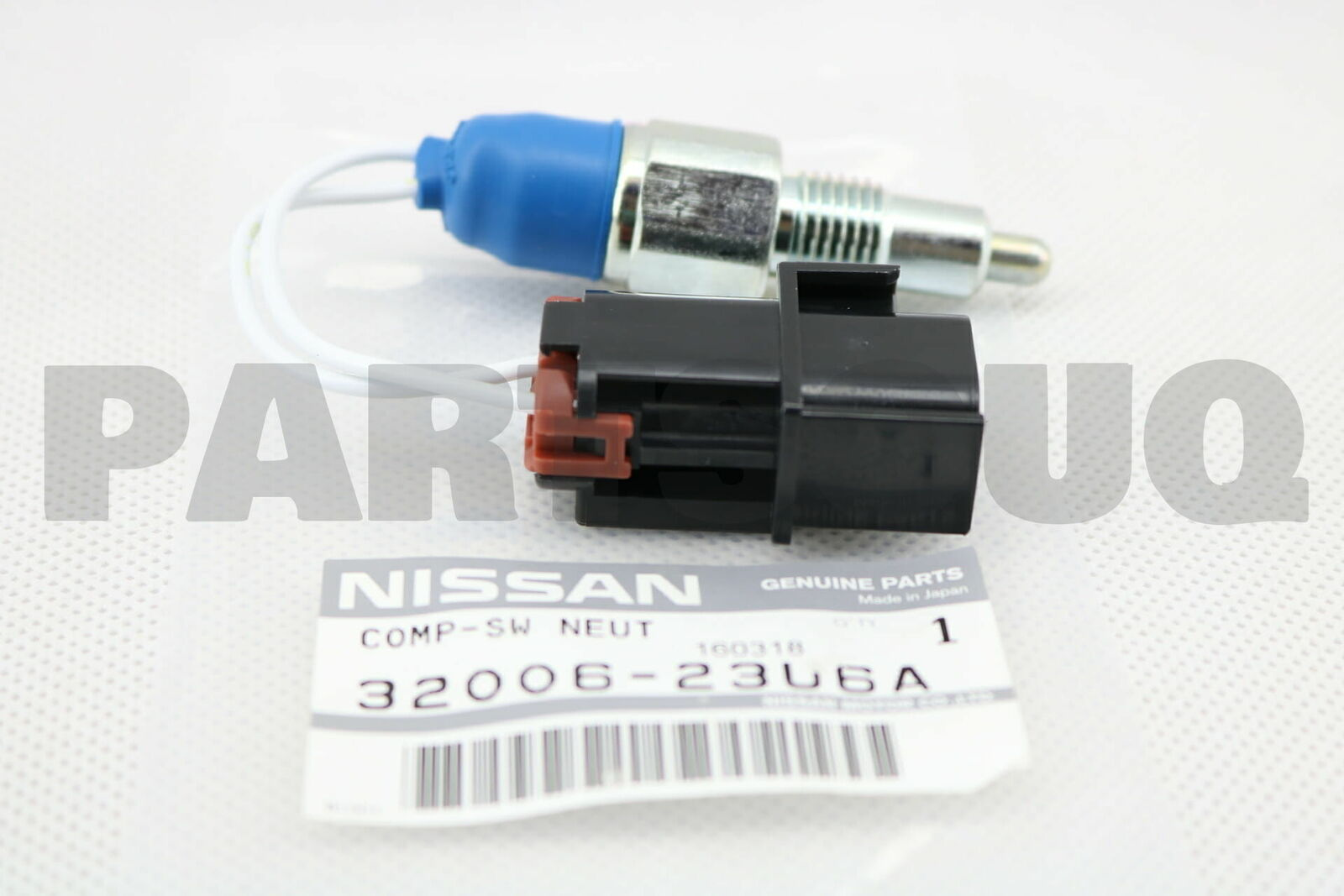 X AUTOHAUX Neutral Position Switch for Nissan Navara D22 01-14 5 Speed Manual 32006-23U6A