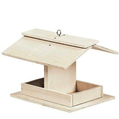 Diy Wooden Bird Feeder Kids Crafts Easy Children Homeschool Quick Shipping Ebay