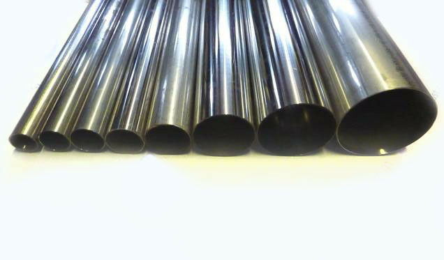 Stainless Steel Round Pipe Tube Multiple Lengths & Sizes Grade T304 High Quality