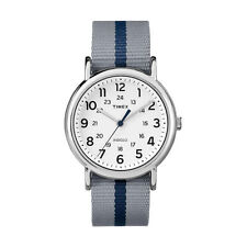 Timex TW2P72300 Originals Weekender Para hombres Reloj de caja de acero inoxidable-RRP £ 50