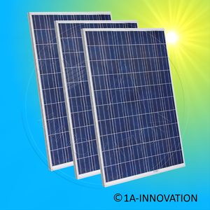 3x Axitec 275W Solarmodul Photovoltaikmodul polykristallin 275 Watt Solarpanel