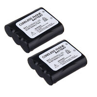 2x Home Phone Battery For Panasonic P511 P-p511a Type 24 Hhr-p402a Kx-tga510