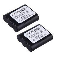 2x 1.5ah Cordless Home Phone Battery For Panasonic P-p511 Er-p511 Hhr-p402 Pp511