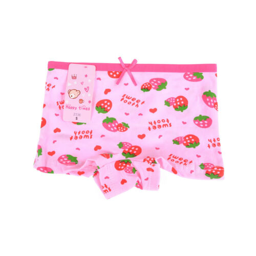 Baby Kids Briefs Underwear Knickers Cute Boxer New Kids Underpants Girls Short B