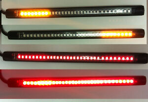 Details about motorcycle led brake light flexible tail light strip harley bobber image is loading motorcycle led brake light flexible tail light strip aloadofball Gallery