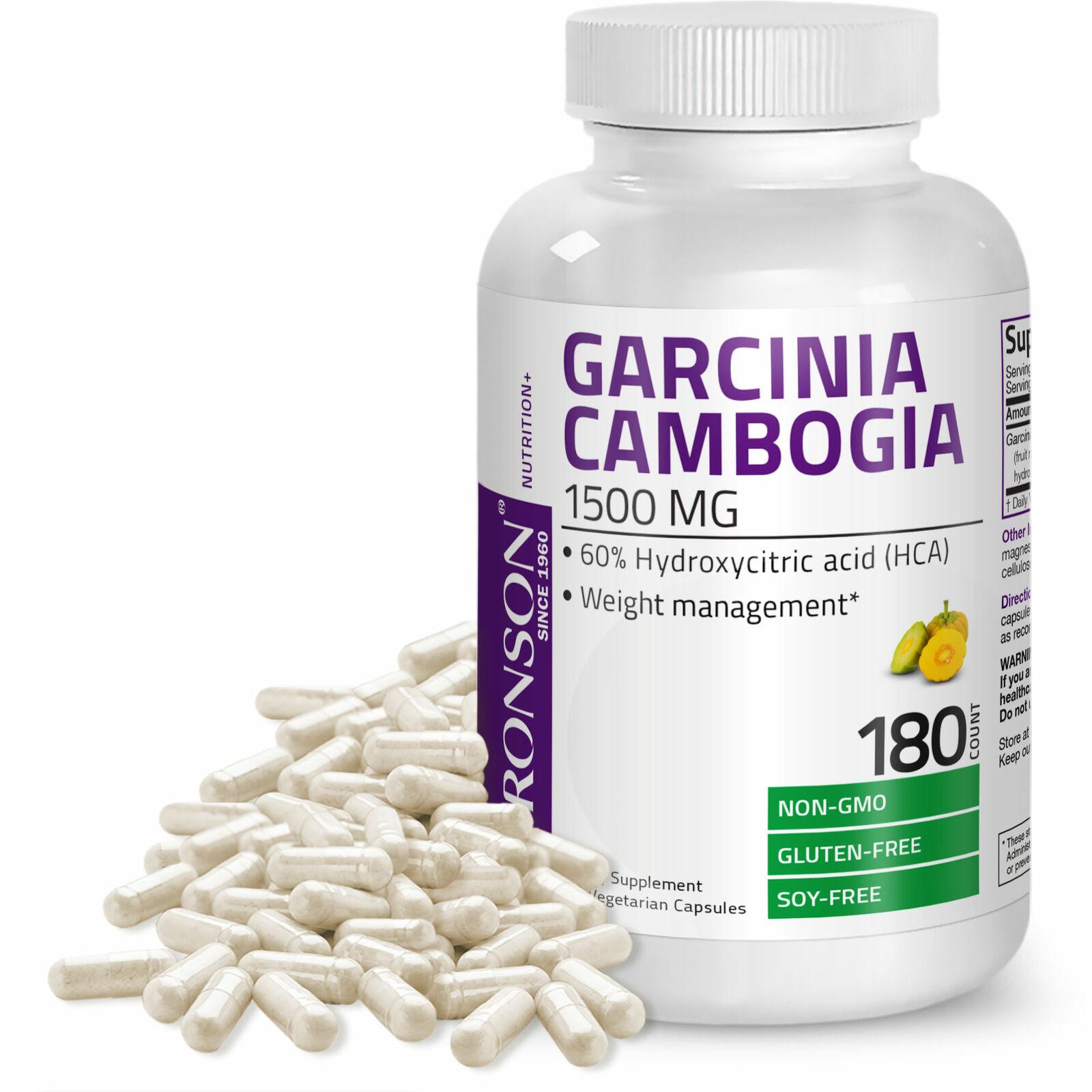 500mg Each Capsules 60/% HCA Garcinia Cambogia Extract Powder Capsules