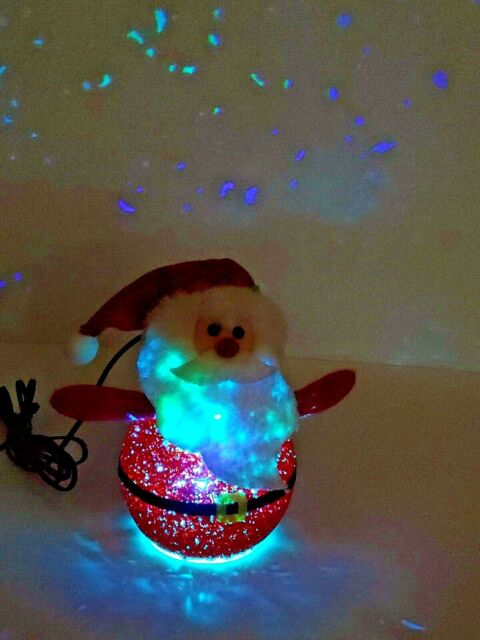 Holiday Time Led Christmas Snowman Snowing Lamp Post For Sale Online Ebay