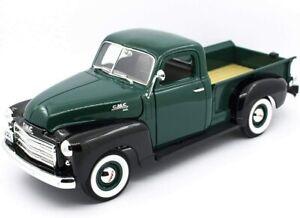 1950 GMC PICKUP TRUCK DARK GREEN 1/18 DIECAST MODEL CAR BY ROAD SIGNATURE 92648