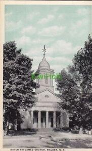 Postcard-Dutch-Reformed-Church-Walden-NY-New-York