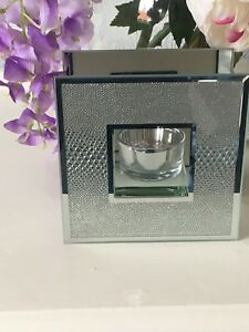 Glass-Silver-Crystal-Tealight-Candle-Holder