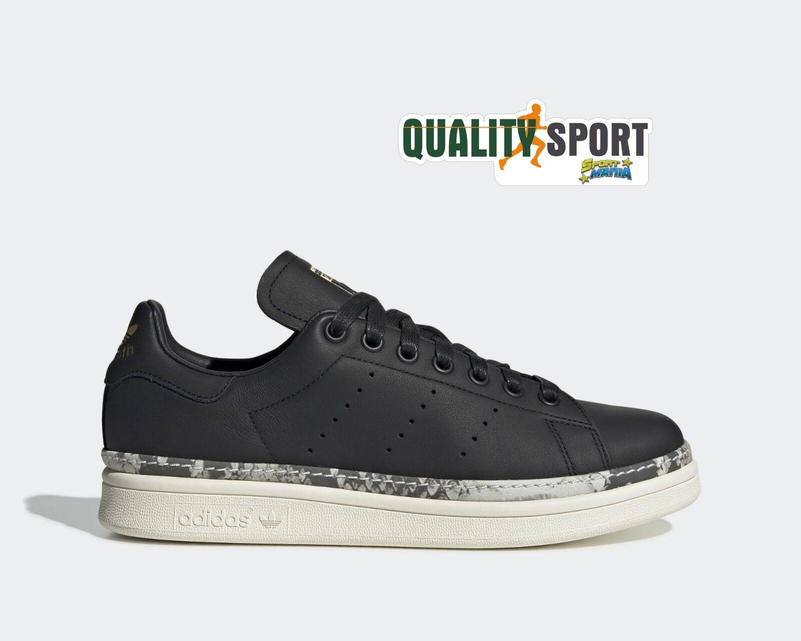 Adidas Stan Smith New Bold black shoes women Sportive Sneakers BD8053 2019