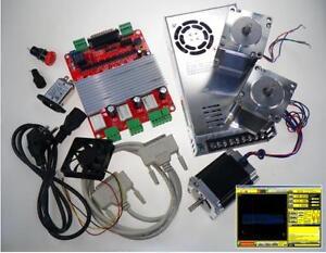 CNC-Kit-Electronica-de-3-Ejes-driver-Controller-card-Fresadora-Router