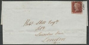 1841-SG8-1d-RED-BROWN-PLATE-14-MANCHESTER-CROSS-COVER-TO-LONDON-4-MARGINS-VFU-LH