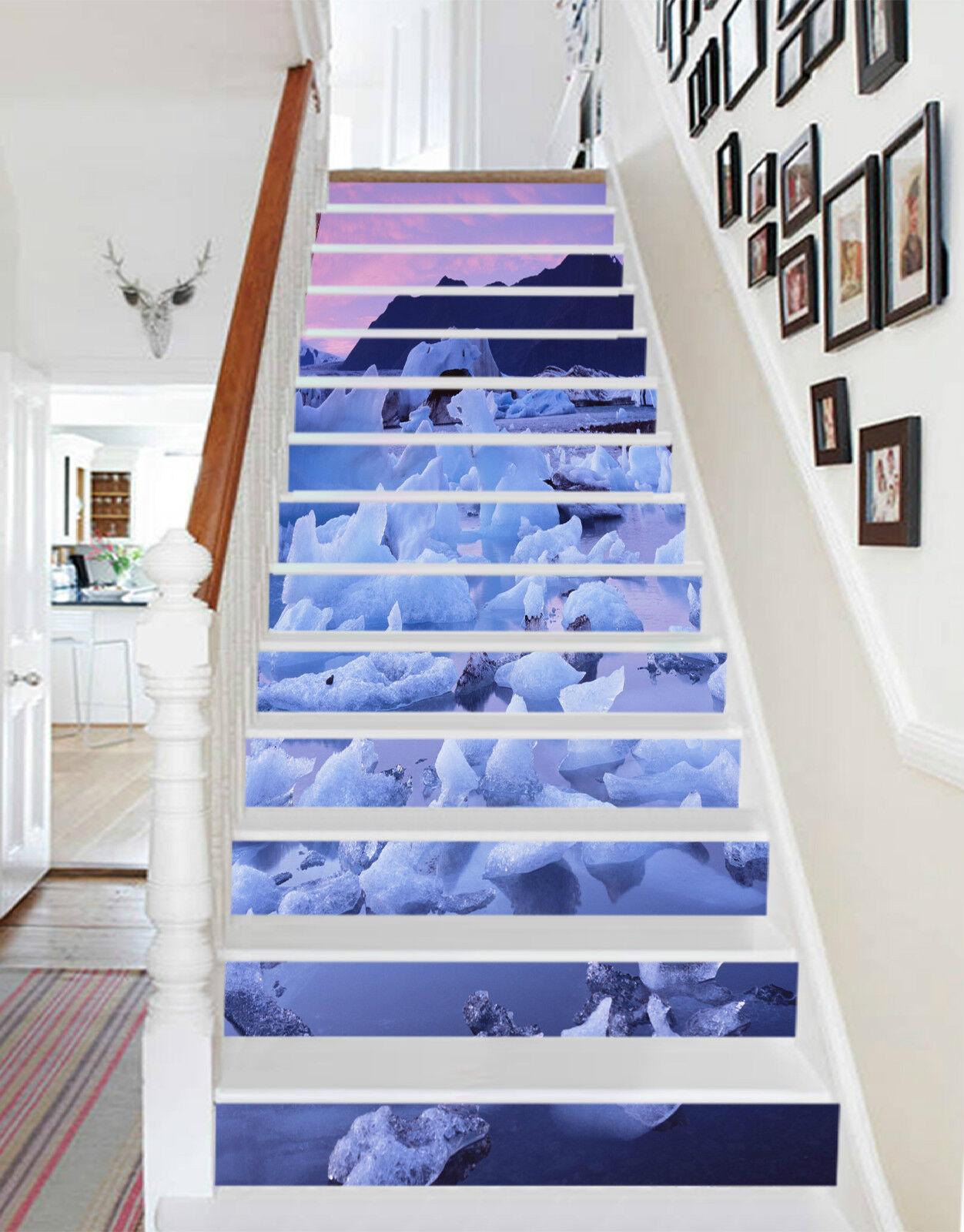 3d meereises 331 Stair Risers Décoration Papier Peint Vinyle Autocollant Papier Peint De