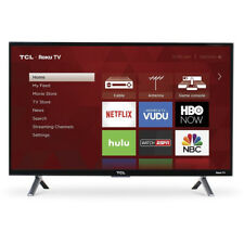TCL 28S305 28-Inch 720p 60 Hz Roku Smart LED TV with 3 x HDMI in Black