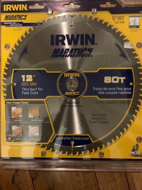 Irwin 12inch Blade 80t