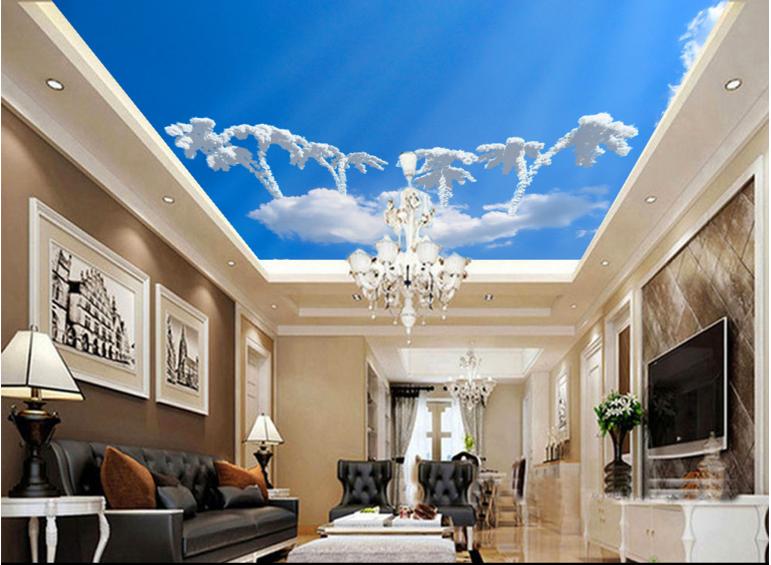 3D Wolken Baum 755 Fototapeten Wandbild Fototapete BildTapete Familie DE Kyra
