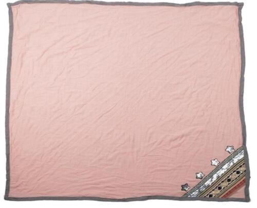 XXL Schal Tuch quadratisch Scarf Bloggerschal Umschlagtuch Pailletten Patches