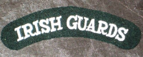 WWII Style Irish Guards Shoulder Titles