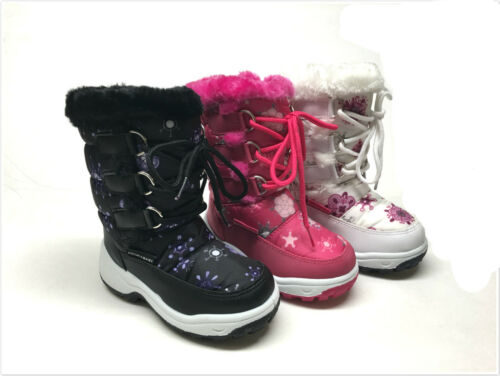 BRAND NEW TODDLER GIRL/'S WINTER SNOW BOOTS SIZE 6-11