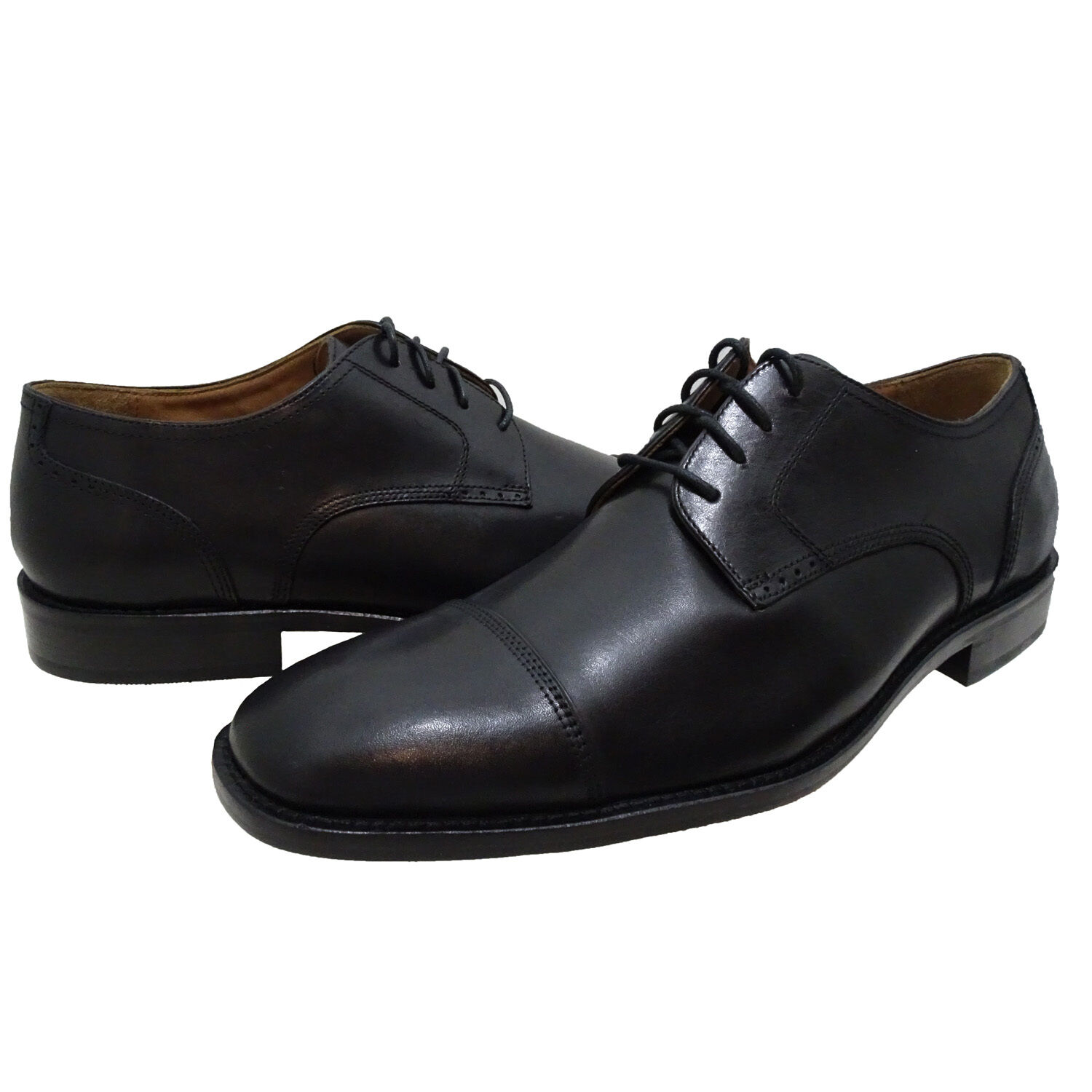 Johnston & Murphy Mens Knowland Lace Up Cap Toe Business Casual Dress shoes