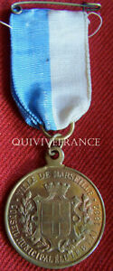 DEC3261-MEDAILLE-FETES-FRANCO-RUSSES-1893-MARSEILLE-FRENCH-ORDER-MEDAL