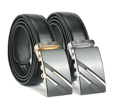 Gold//Silver Charm Men/'s Alloy Automatic Buckle For Waist Strap Belt Waistband